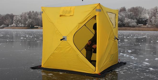 Палатка призма для зимней рыбалки