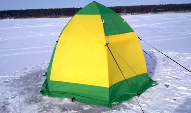 Палатка зонт для зимней рыбалки