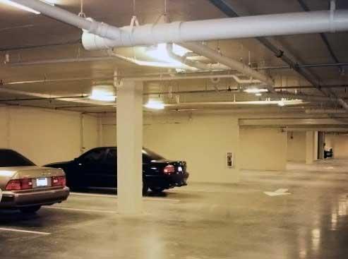 Вентиляция больших гаражей осуществляется механическим способом