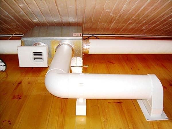 Воздуховоды, фильтр, электрокалорифер