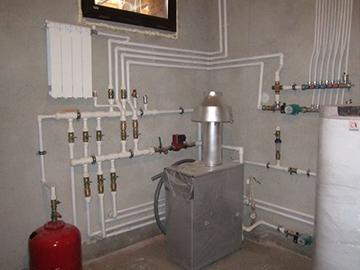 водяное отопление после монтажа