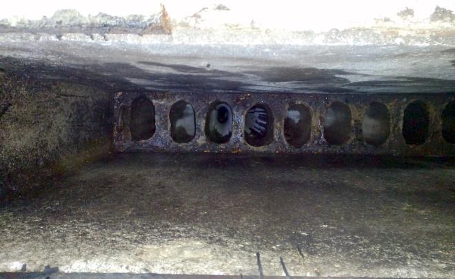 Пример обморожения вентканала как источника проблемы