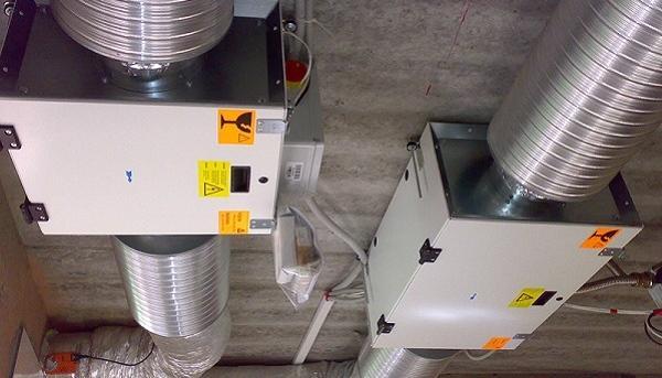 Фото элементов разборной/наборной вентиляции