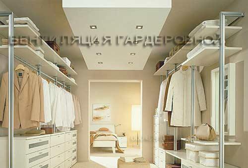 вентиляция гардеробной
