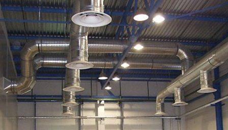 Качественная вентиляция необходима для обеспечения комфортных условий труда