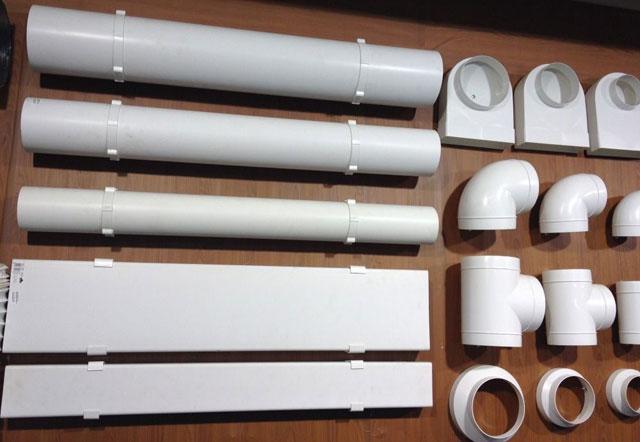 пластиковые вентиляционные трубы размеры