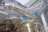 Клапаны управления расходом воздуха в системе вентиляции пентхауса