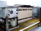 Холодильная машина и вентиляционный агрегат Swegon Gold с рекуперацией на крыше пентхауса