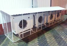 Произведен монтаж нового и современного холодильного оборудования, закупленного у сторонних компаний