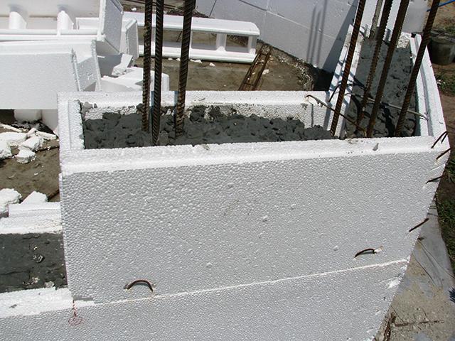 Процесс строительства термодома