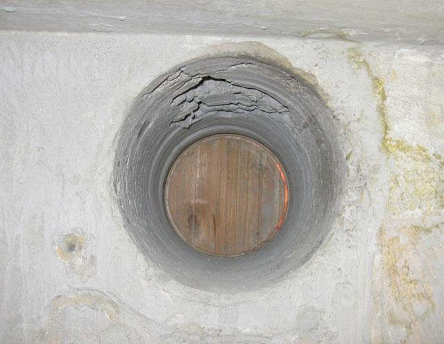 как просверлить отверстие в стене под трубу