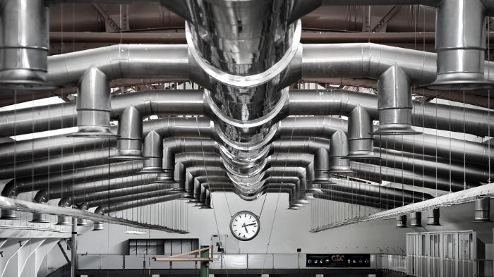 Трубная конструкция вентиляции
