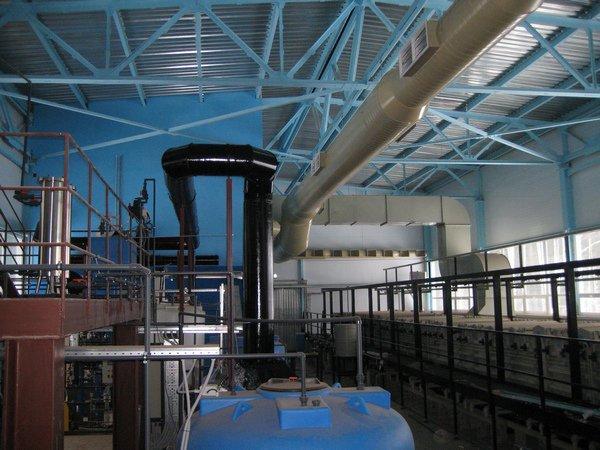 Вентиляция гальванического цеха