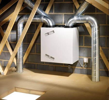 Вентмашина для вентиляции в частном доме