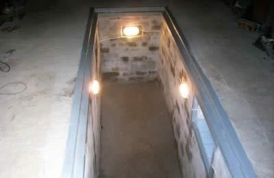 Вентиляция в смотровой яме гаража