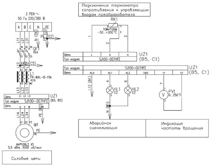 Использование преобразователя частоты в системах вентиляции