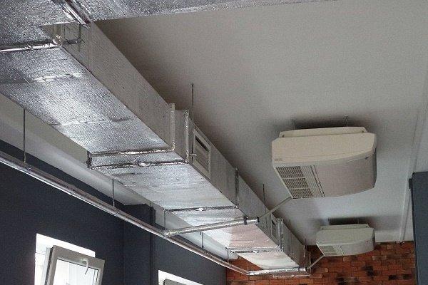 Работа вентиляции в паре с кондиционерами