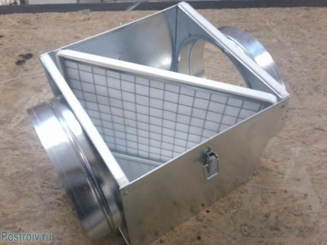 Короб для теплообменника - Фото 08