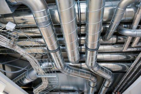 Воздуховод из оцинкованной стали