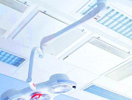 Так выглядит диффузор для вентиляции операционных