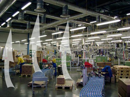 Вентиляция складских помещений
