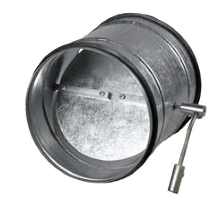 Обратные клапана на вентиляцию на вентиляцию с ручным приводом позволяют закрыть доступ воздуху при отключенном вентиляторе