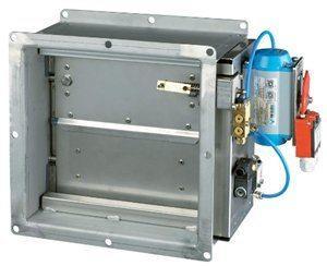 Противопожарные и огнезащитные клапана на вентиляцию