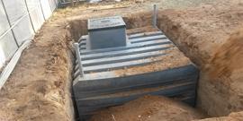 Фото - Пластиковый погреб – устанавливаем готовое хранилище для запасов