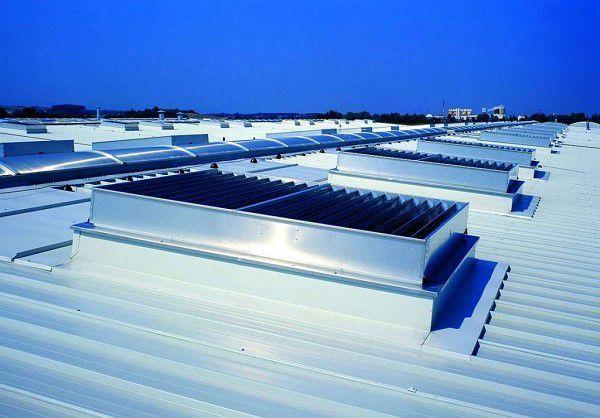Один из вариантов крышной вентиляции