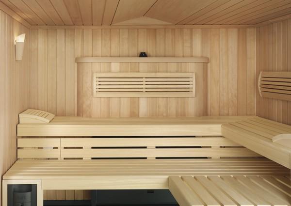 На фото: устройство вентиляции в типичной сауне