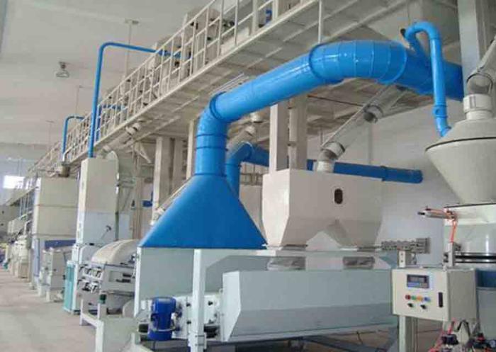 промышленный вентиляционный отсос от оборудования