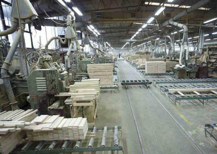Промышленная вентиляция в деревообработке.