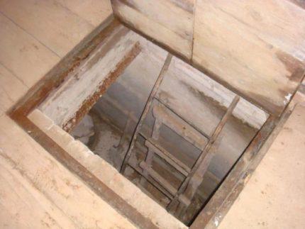 Просушка погреба