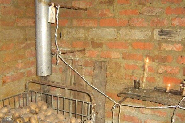 Система вентилирования с одной трубой