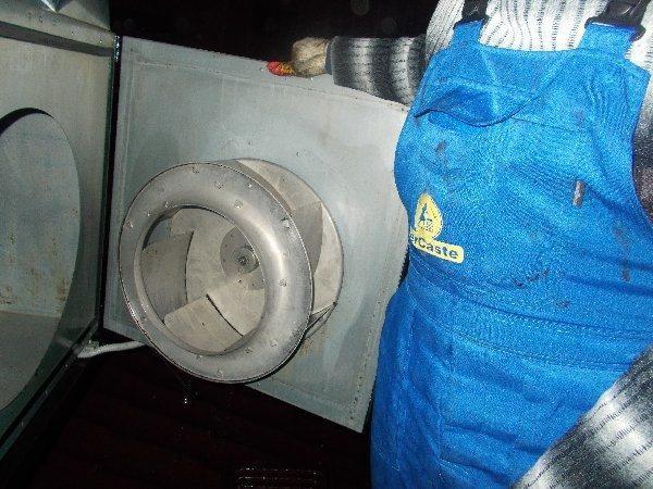 Очищенная вентиляция и, как следствие, ее высокая производительность