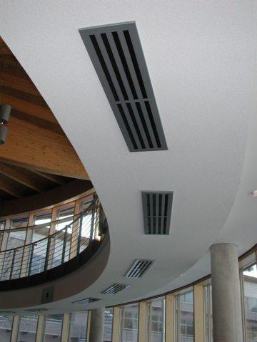 Вентиляция в общественном здании