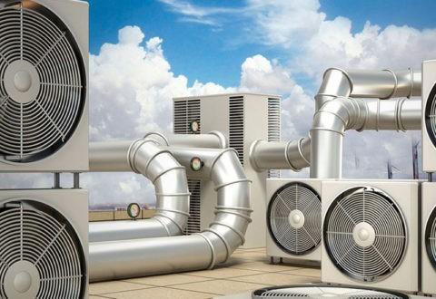 Вентиляционная система – уличная часть