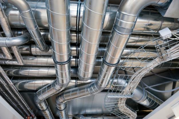 Оцинкованные трубы для вентиляции