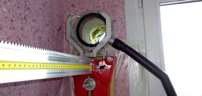 Чрезмерно большое отверстие может привести к теплопотерям в доме