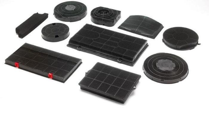 Угольные фильтры для разных типов вытяжек