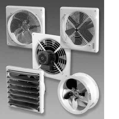 Встроенные вентиляторы.