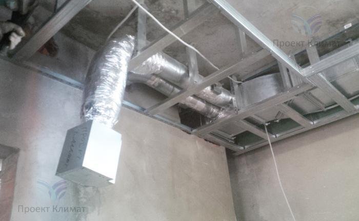 Пример разводки воздуховодов по квартире