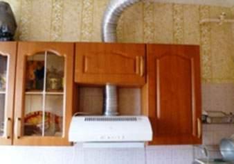 Восстановленная вентиляция на кухне