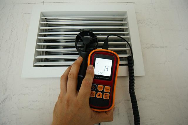 прибор для замера скорости передвижения воздуха в вентиляции