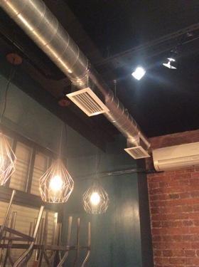 Вентиляция в стиле Loft