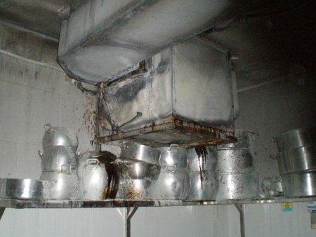 очистка воздуховодов от жира