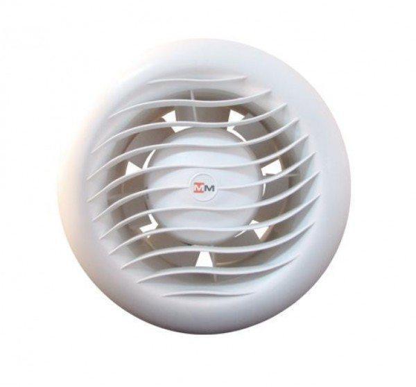На фото - вытяжной вентилятор для бани