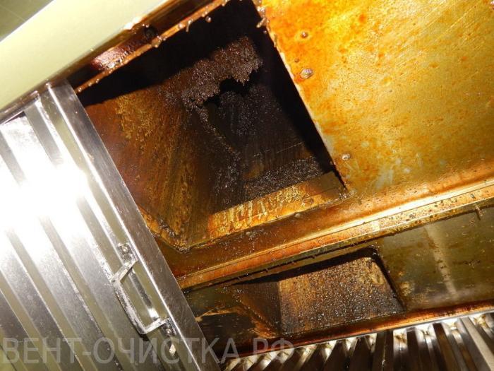 чистка вентиляции от жира в ресторане