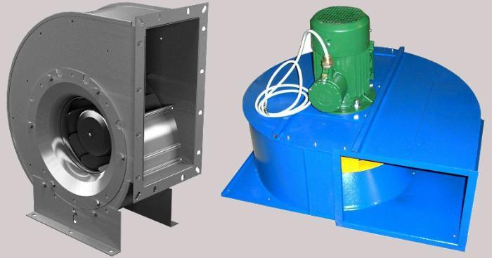 Вентиляторы для покрасочной камеры
