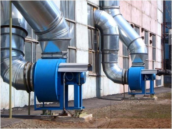 Вентиляция промышленных зданий